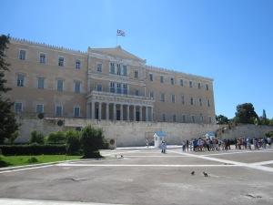Greek Parliament building