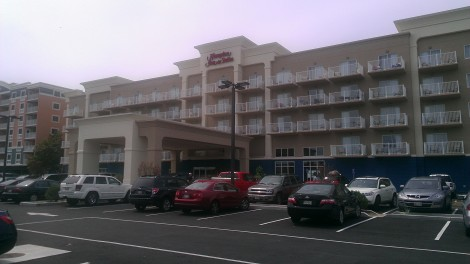 Hampton Inn - Ocean City MD (Image from Sens General Contractors project gallery at SensInc.com)