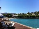 Elounda Bay Hotel - view from the Sailing Bar