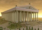 Image of what the Temple of Artemis would have looked like in its day from http://www.ephesusselcuk.com/the-artemis-temple/