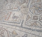 Close up of some of the mosaic
