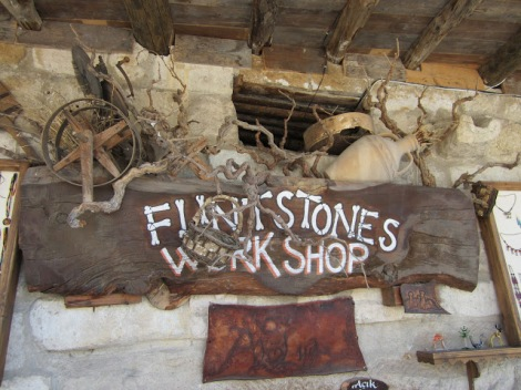 Who knew the Flintstones set up shop in Cappadocia?