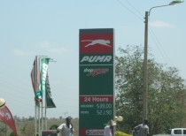 Puma Gas station - Company branching out or copyright infringement??