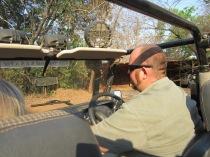Zane, taking us on a safari drive