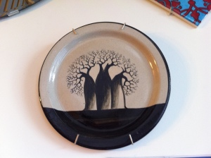 My favorite Nkhotakota Pottery pattern - the Baobab Tree
